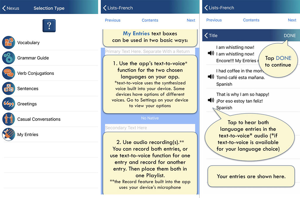 teach foreign languages with Encore app