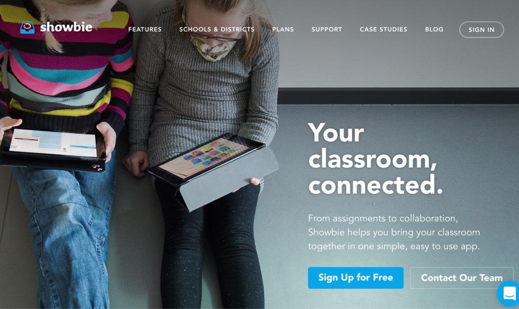 Showbie platform to share assignments and feedback