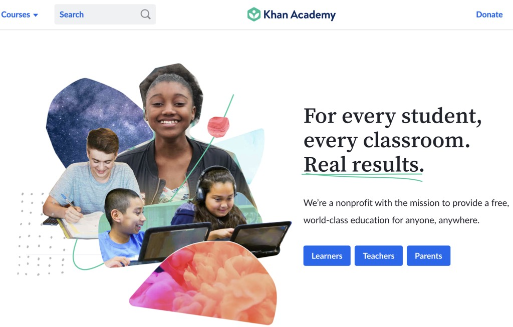 Khan Academy platform to use in classroom