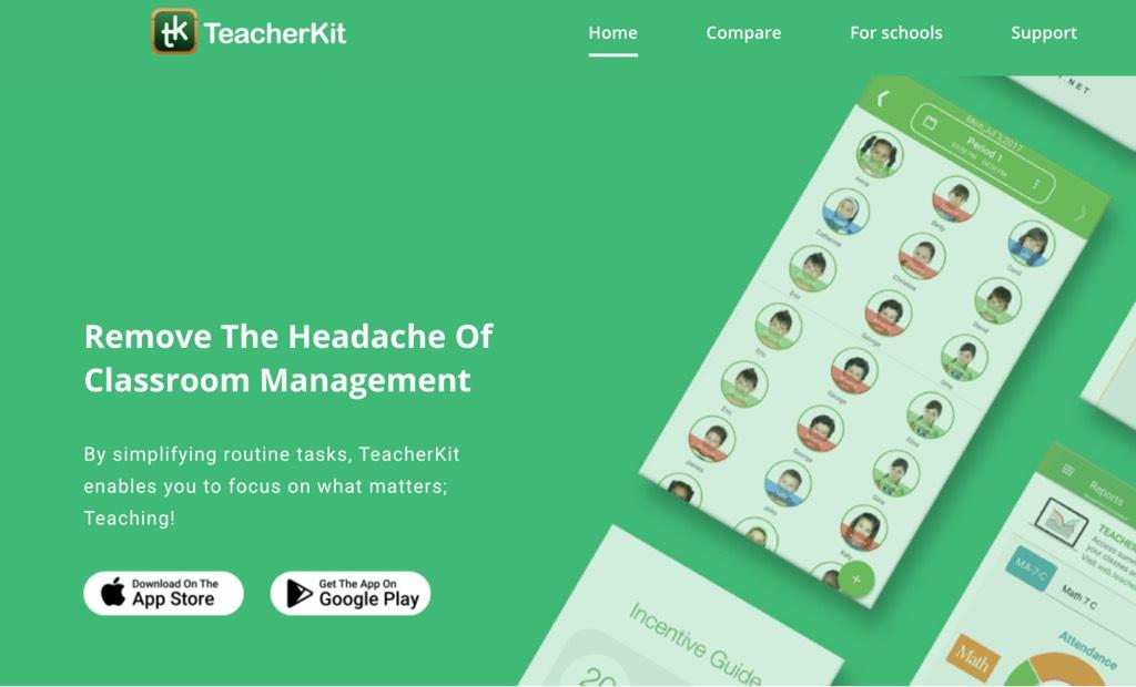 Organize classes with TeacherKit classroom appOrganize classes with TeacherKit classroom app